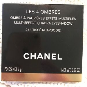 New never used CHANEL Les 4 Ombres Eyeshadow.
